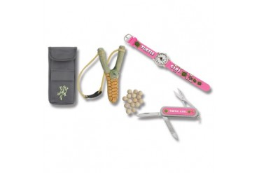 Turtleman Turtle Girl Watch and Knife Combo with FREE! Turtleman Slingshot