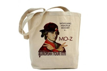 Mozart 'Mo-Z' Tour Funny Tote Bag by CafePress
