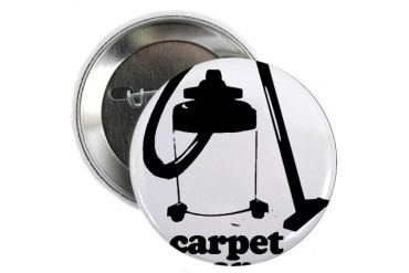 CARPET CLEANER 2.25quot; Button Baseball 2.25 Button by CafePress