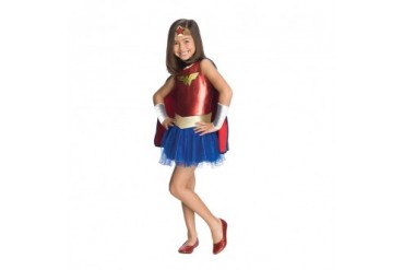 Girls Wonder Woman Tutu Halloween Costume