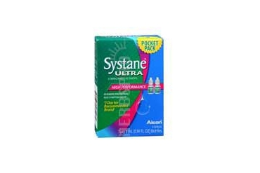 Systane Ultra High Performance Lubricant Eye Drops Pocket Pack 2 X 4 ml
