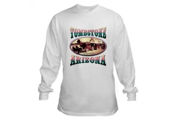 Tombstone Arizona Art Long Sleeve T-Shirt by CafePress