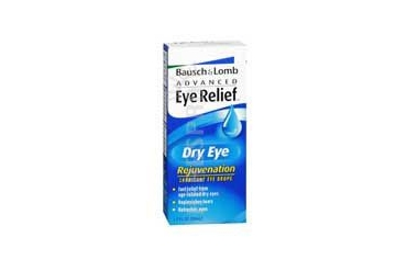 Bausch And Lomb Advanced Eye Relief Dry Rejuvenation Lubricant Drops 1 oz
