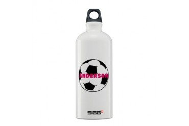 Personalized Soccer Soccer Sigg Water Bottle 0.6L by CafePress
