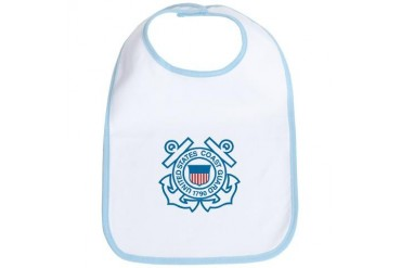 US Coast Guard Military Bib by CafePress