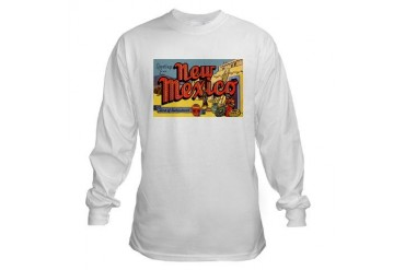 New Mexico Greetings Vintage Long Sleeve T-Shirt by CafePress