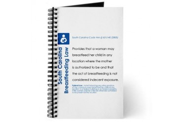 Breastfeeding in SC Baby Journal by CafePress