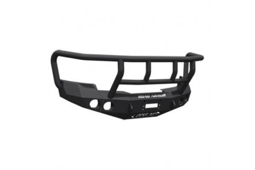 Road Armor Front Stealth Winch Bumper with Titan II Guard in Satin Black 37602B Front Bumpers
