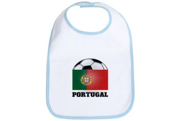 Portugal Soccer Sports Bib by CafePress
