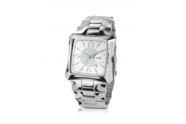Blade - Crystal Bezel Square Dial Watch
