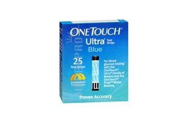 Onetouch Ultra Blue Test Strips 25 each