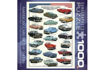 Cars of the 50s 1000 Piece Puzzle