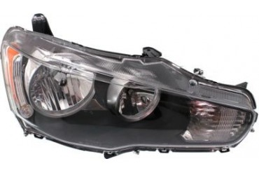 2008 Mitsubishi Lancer Headlight Replacement Mitsubishi Headlight REPM100103NSF 08