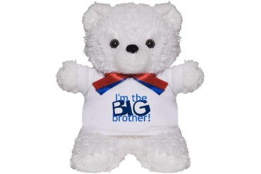 Big Brother Big brother Teddy Bear by CafePress