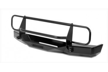 Warrior Rock Crawler Front Bumper with Brush Guard, D-Ring Mounts and Winch Mount  56055 Front Bumpers