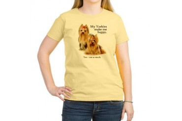 My Yorkies Women's Light T-Shirt