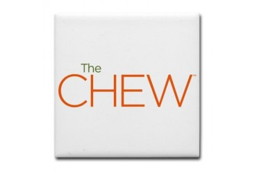 The Chew Tile Coaster