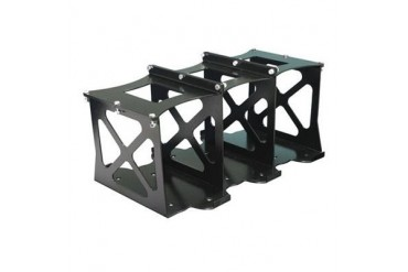 Artec Industries Group 31 Triple Back to Back Optima Battery Mount - Bare Steel OP3109B Battery Tray