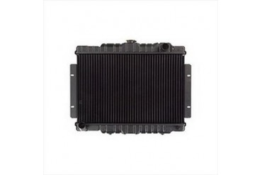 Omix-Ada Replacement 2 core Radiator for AMC 6 or 8 Cylinder Engines with Automatic Transmission 17101.07 Radiator