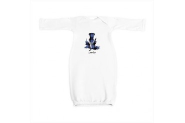 Thistle - Dunlop Scottish Baby Gown by CafePress