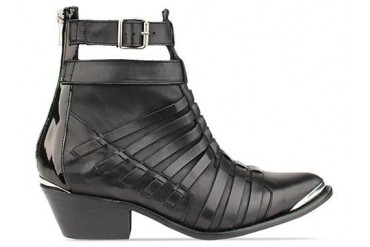 To Be Announced Esther in Black Leather size 6.0
