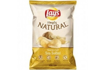 Simply Lay s Sea Salted Thick Cut Potato Chips