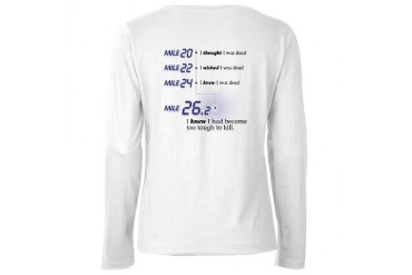 Too Tough To Kill Running Women's Long Sleeve T-Shirt by CafePress
