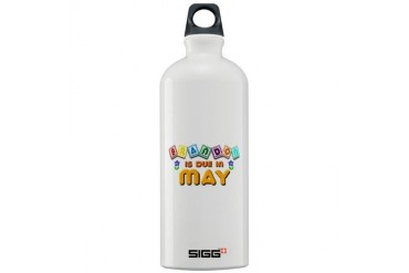 Brandon is Due in May.png Love Sigg Water Bottle 1.0L by CafePress