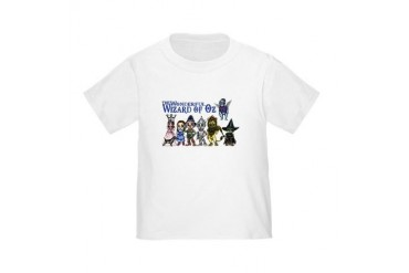 Cast of Characters in Oz Toddler T-Shirt