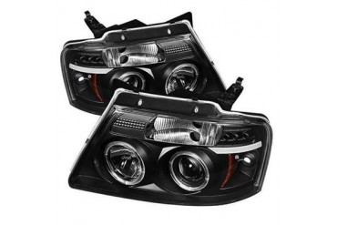 Spyder Auto Group Halo LED Projector Headlights 5010209 Headlight Replacement