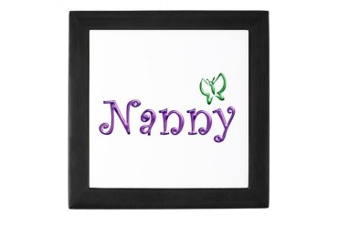 Nanny Family Keepsake Box by CafePress