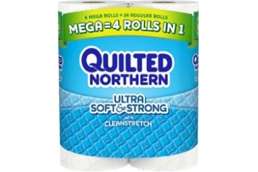 Quilted Northern Ultra Soft and Strong Bath Tissue Mega Rolls
