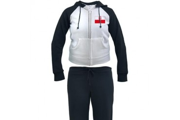 Polish Falcon Flag Flag Women's Tracksuit by CafePress