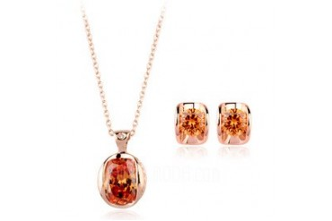 Gorgeous Alloy Ladies' Jewelry Sets (137048288)