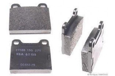 1978-1985 Mercedes Benz 300SD Brake Pad Set Textar Mercedes Benz Brake Pad Set W0133-1622814 78 79 80 81 82 83 84 85
