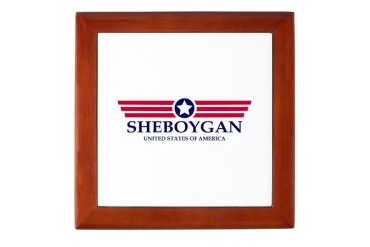 Sheboygan Pride Wisconsin Keepsake Box by CafePress