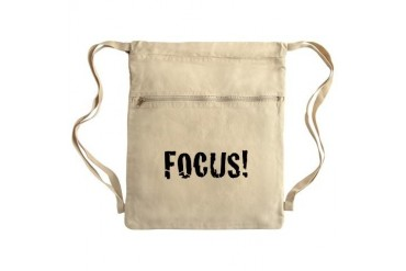 Focus Sack Pack Romance Cinch Sack by CafePress