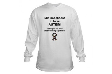 Autism Awareness Autism Long Sleeve T-Shirt by CafePress