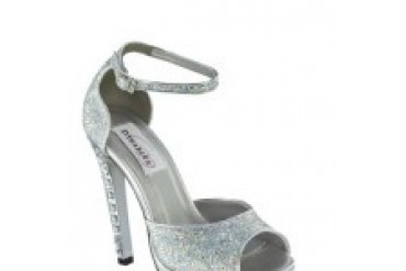 Dyeables Shoes - Style Nori Silver 35814