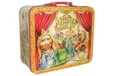 Muppets Muppet Show Group Curtain Call Metal Lunch Box