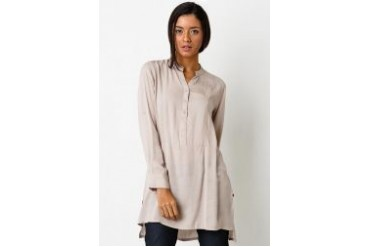Triset Ladies Long Sleeve W O Collar