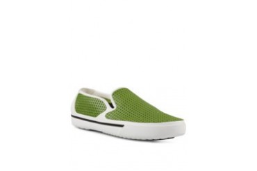 Crocs Crosmesh Summer Shoe White Parrot Green