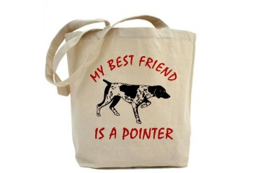 Best Friend Pointer - Pets Tote Bag by CafePress