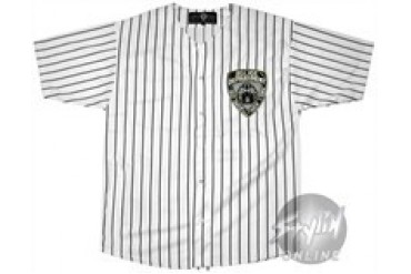 NYPD #1 Embroidered Baseball Jersey