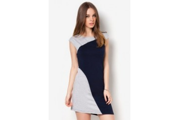 Something Borrowed Colourblock Dress