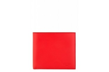 Givenchy Red Leather Bifold Wallet