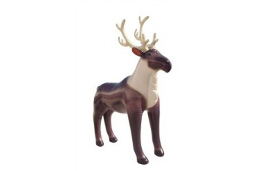 Incredible Lifelike Inflatable Reindeer (84 Inches Long)   Price Comparison