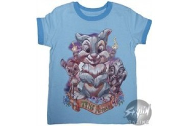 Disney Bambi's Thumper Tiki Kingdom Girls Youth T-Shirt
