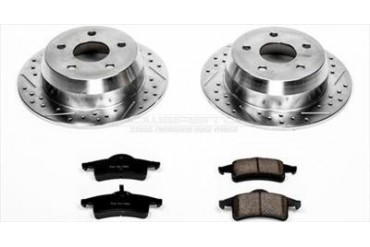 Power Stop Rear Brake Kit K2151 Replacement Brake Pad and Rotor Kit