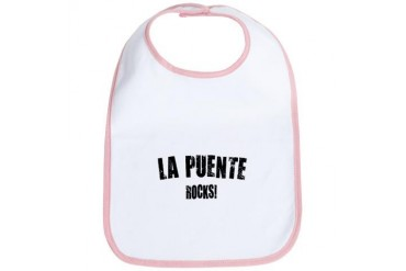 La Puente Rocks California Bib by CafePress